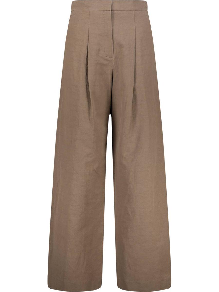 Wide-legged highwaist trousers