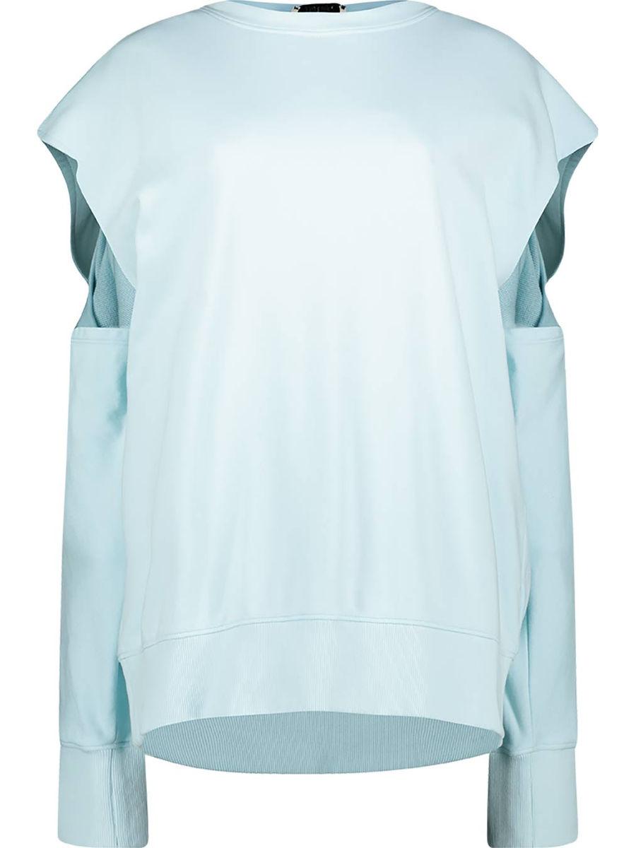 Contemporary slit sleeve jumper