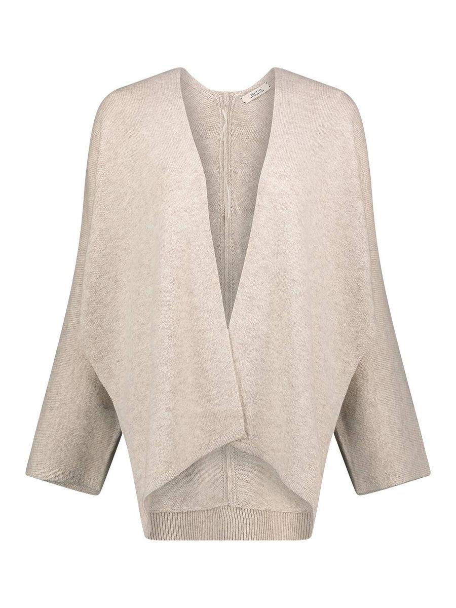 Minimal cashmere-blend cardigan