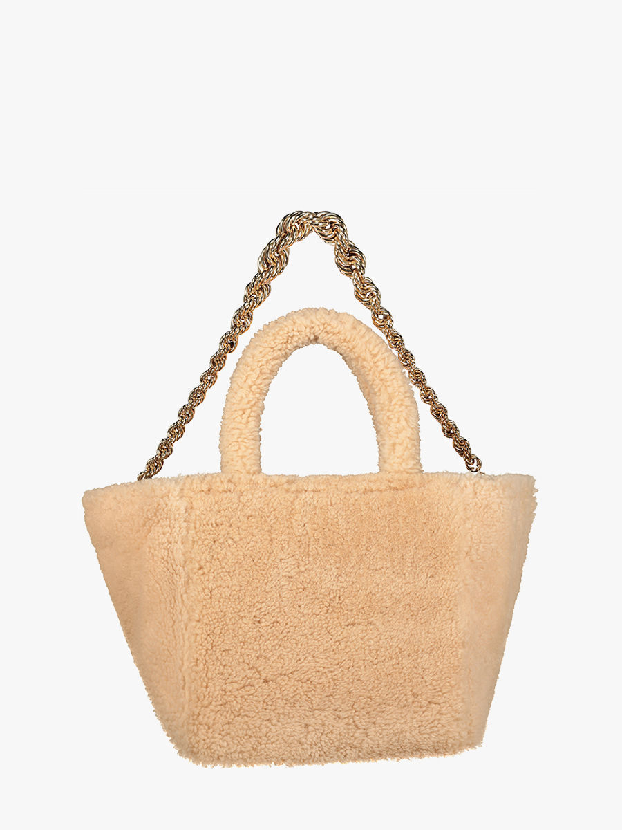 Wild Touch Tote aus Shearling