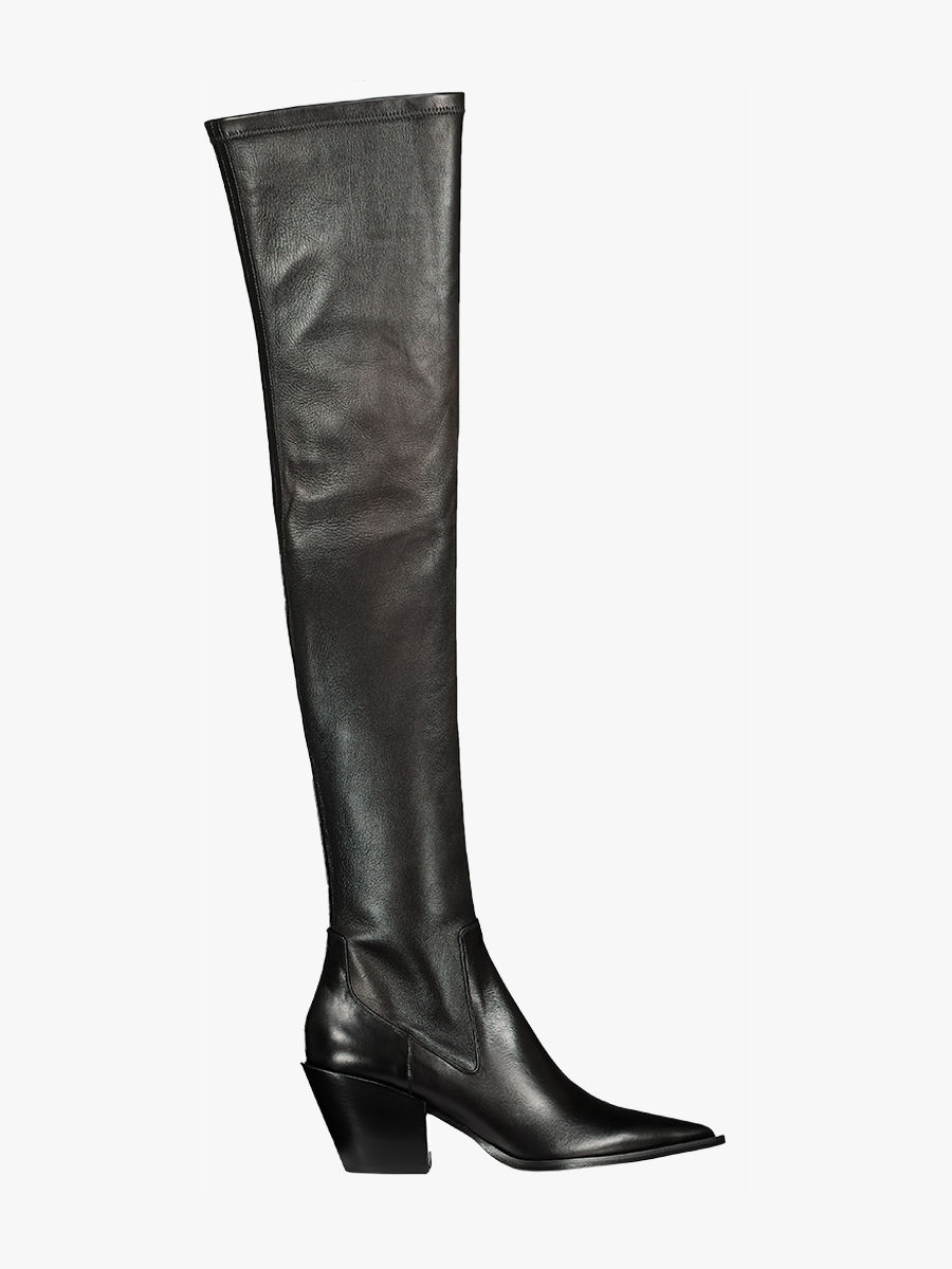 Sleek Coolness Stretch Overnkee Stiefel
