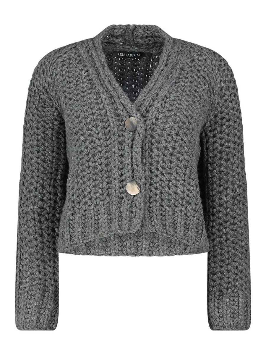 Nane wide knit cardigan