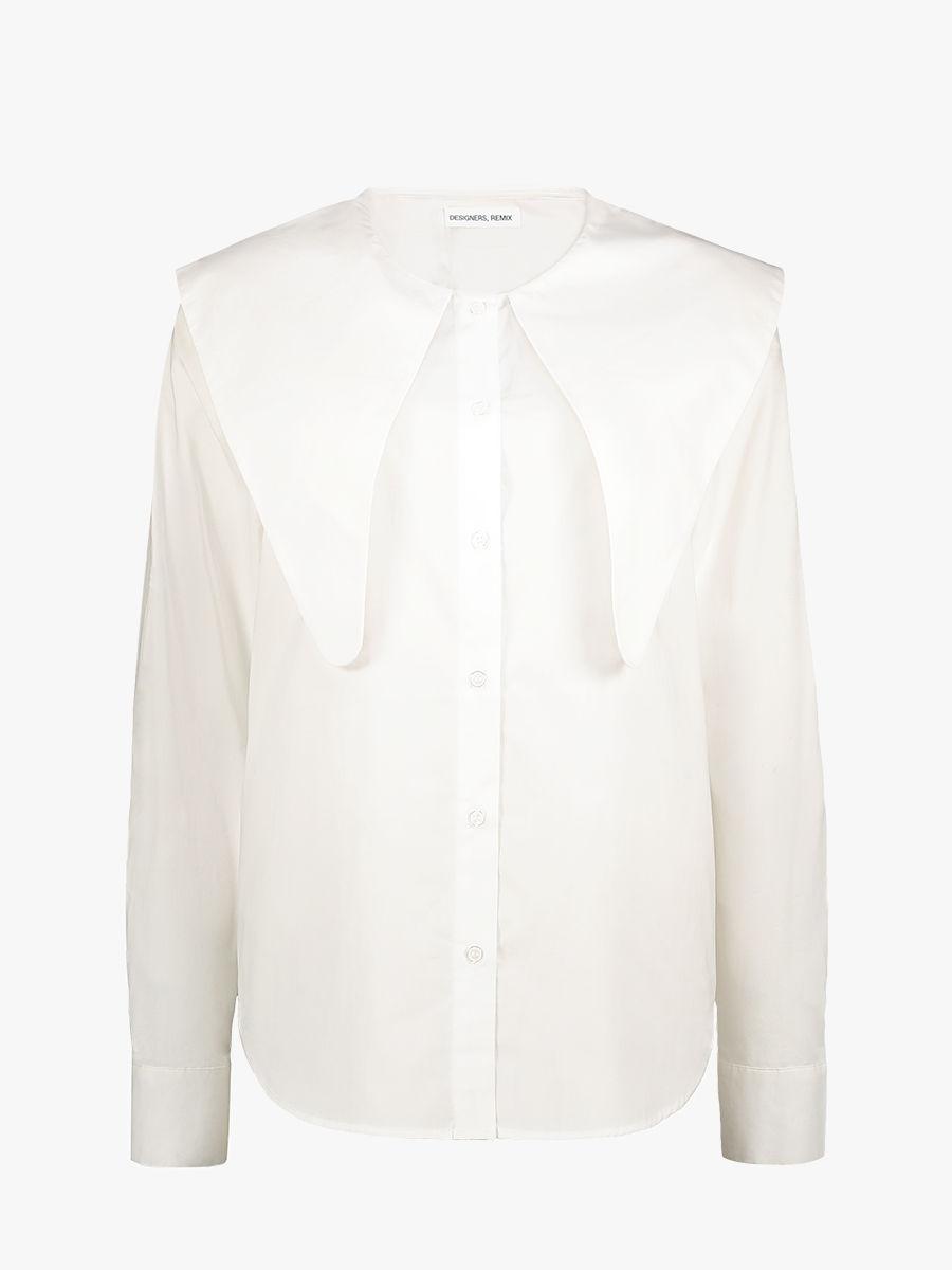 Sandra big collar shirt