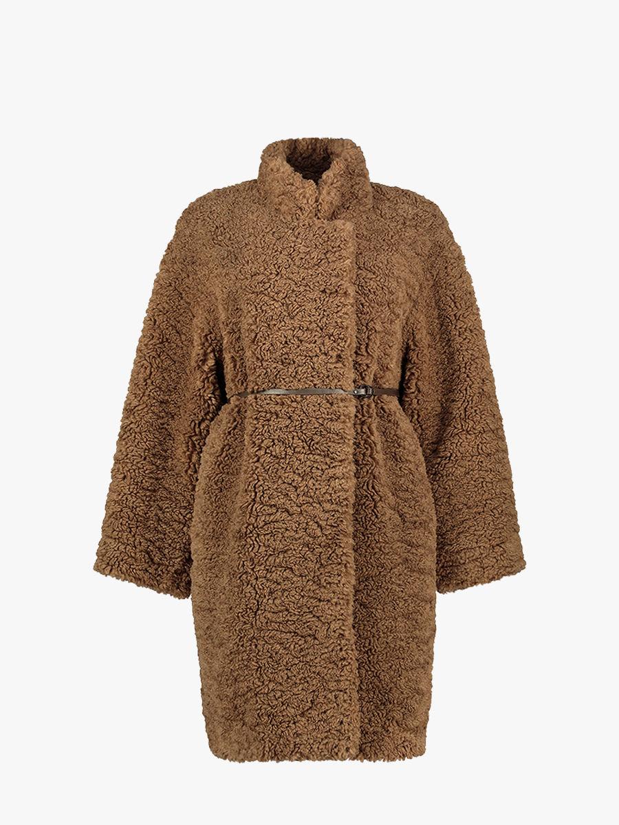 Maguelone Mantel aus Faux Fur