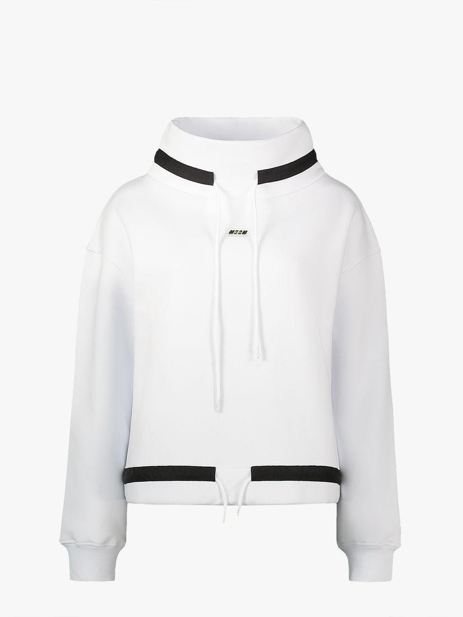 Pullover mit Trichterkragen