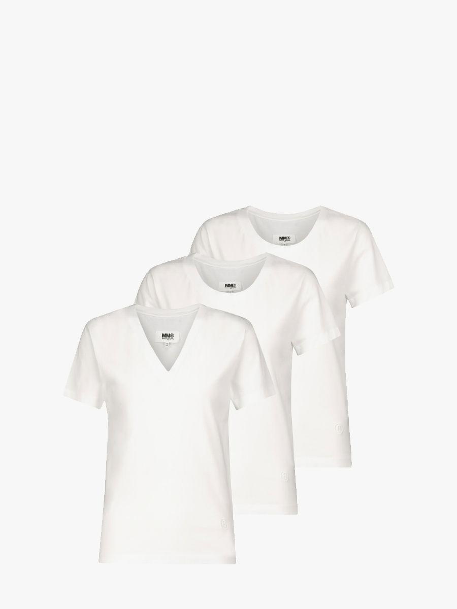 3-pack logo T-shirts