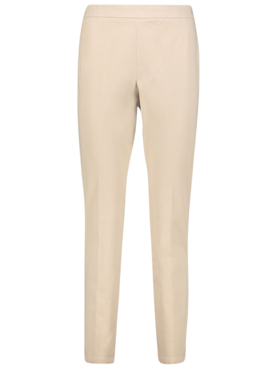 Zip detailed neutral trousers