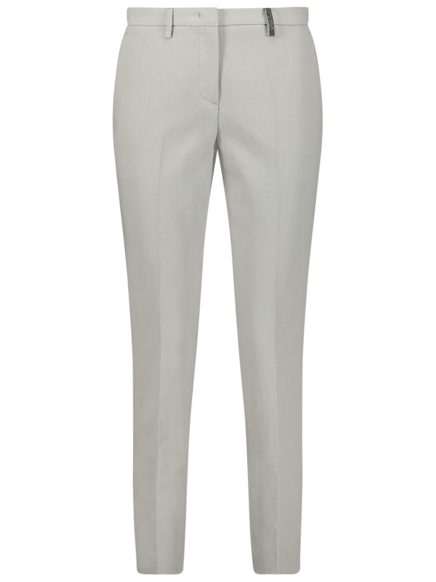 Trendy belt loop trousers