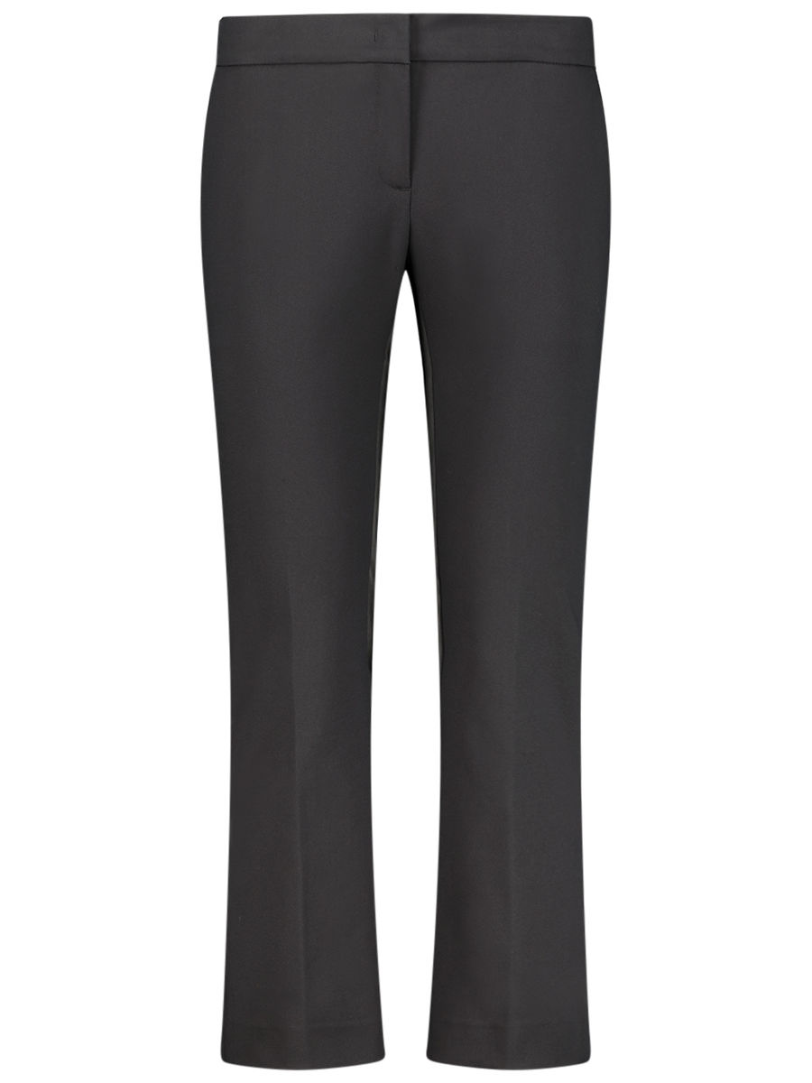 Soft flared trousers