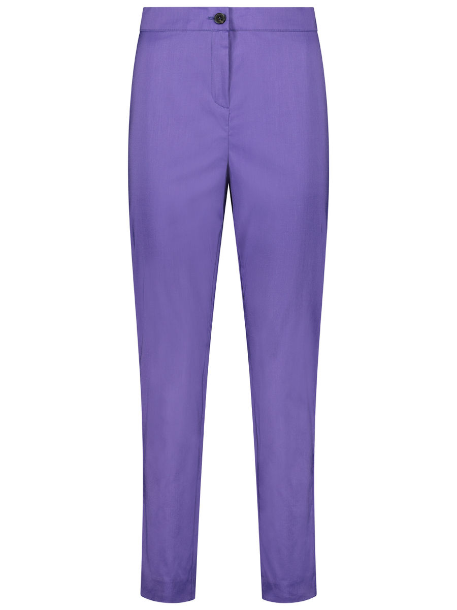 Straight business trousers