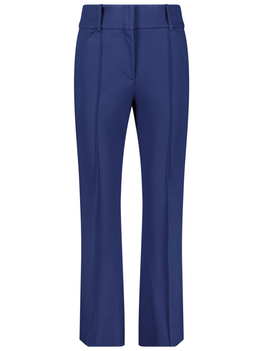 Muted flare trousers