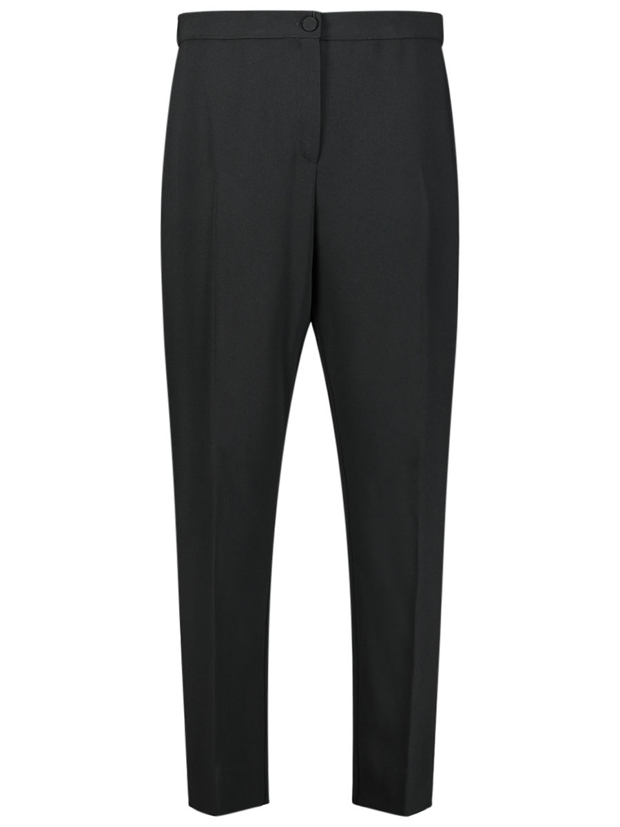 Vertical crease trousers