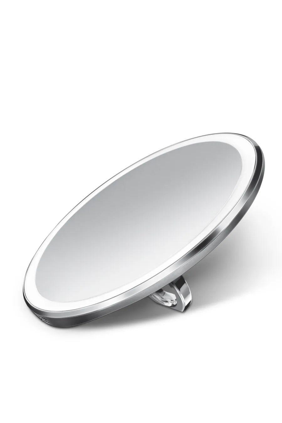 Compact vanity sensor mirror